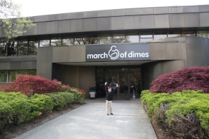 THIS is the March of Dimes headquarters!!!